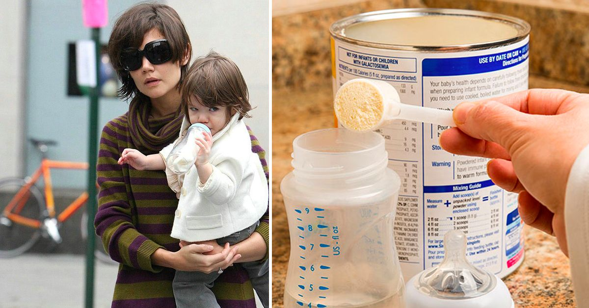 Can you mix baby formula with warm water