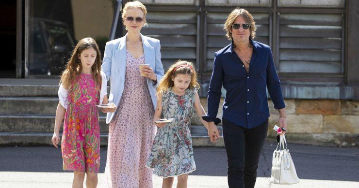 Nicole Kidman, Keith Urban en hun 2 dochters