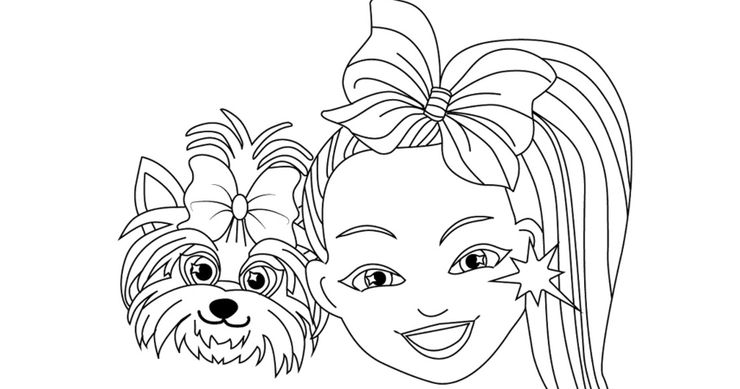 12 Free Jojo Siwa Coloring Pages Moms