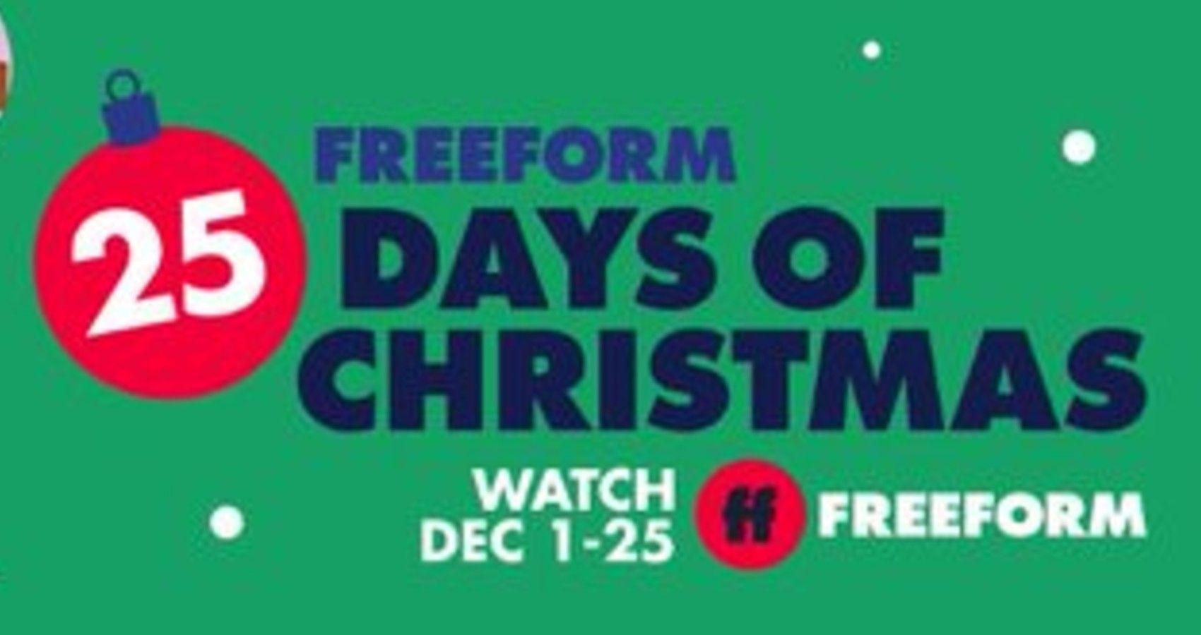 Freeform: '25 Days Of Christmas' Schedule | Moms.com