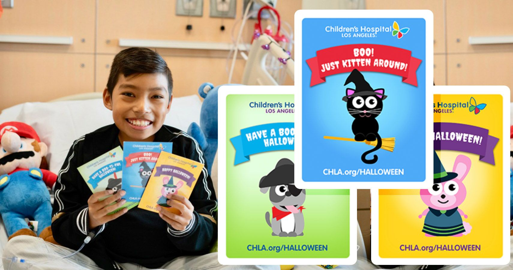 Children's Hospital Wants You To Send A Halloween Card To A Child