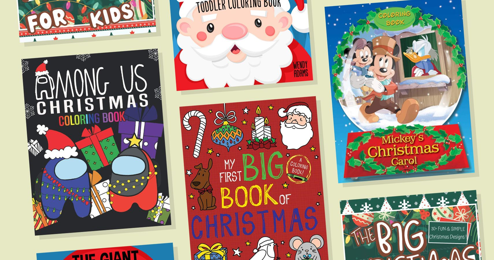 12 Holiday Coloring Books For Kids Moms